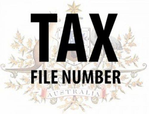 Nomor Wajib Pajak TFN Australia