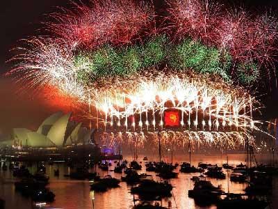 Acara Tahun Baru di Australia