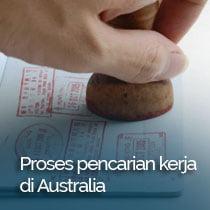 proses bekerja di Australia