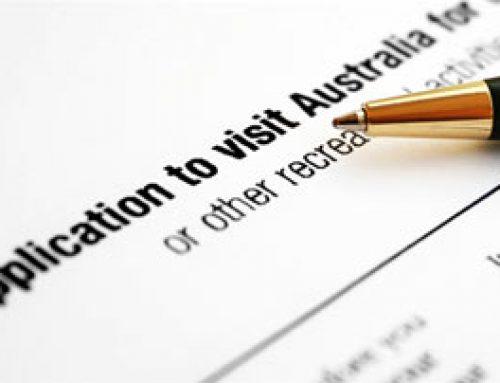 Aplikasi Visitor Visa Australia
