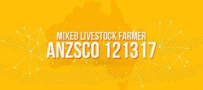 ANZSCO 121317 - Mixed Livestock Farmer