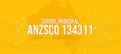 ANZSCO 134311 - School Principal